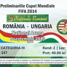 Bilet meci Romania - Ungaria (2013)