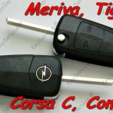 Contact auto, Opel, CORSA C (F08, F68) - [2000 - 2006] - Cheie Briceag Noua OEM Opel Corsa C Meriva 2 Butoane HU100 - ORIGINALA OPEL