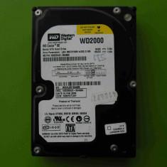 Hard Disk HDD 200GB Western Digital WD2000 SATA - DEFECT