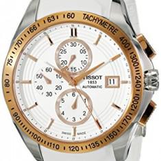 Ceas de Dama tissot - Tissot Men's T0244272701100 Velco-T Gold-Tone Stainless | 100% original, import SUA, 10 zile lucratoare af22508