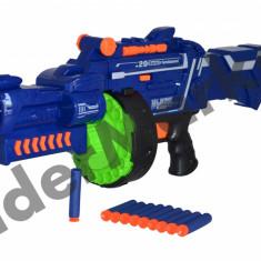 Pistol de jucarie - Pusca cu gloante din burete Blaze Storm Soft Bullet Gun 7050