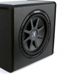 Boxe auto Kicker PECVR12 Substation subwoofer activ plug&play; Subwoofer CompVR 12''; Amplificator 400W; Incinta ventilata