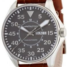 Hamilton Men's H64715885 Khaki Pilot | 100% original, import SUA, 10 zile lucratoare a32207 - Ceas barbatesc Hamilton, Mecanic-Automatic