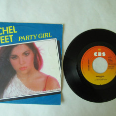 Rachel Sweet - Party girl (1981, CBS) Disc vinil single 7