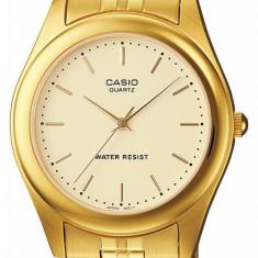 Ceas barbatesc Casio Original Quartz import Japonia, Elegant, Inox, 30 m / 3 ATM, Analog