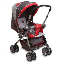 Carucior copii 2 in 1 - Carucior KIDDO sport Baby Bus, Rosu