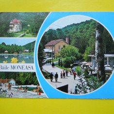 HOPCT 11919 BAILE MONEASA - - JUDETUL ARAD [ CIRCULATA ] - Carte Postala Crisana dupa 1918, Printata