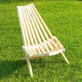 Scaun gradina - Scaun pliant din lemn pentru gradina sau terasa