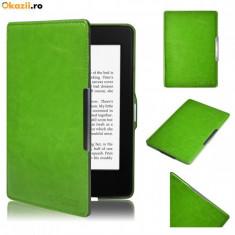 Husa Smart Amazon Kindle Paperwhite + folie protectie + stylus