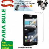 Folie de protectie, LG Optimus F6, Lucioasa - Folie protectie LG Optimus F6 D505 transparenta Montaj iNCLUS in Pret