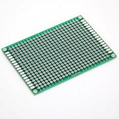 Placa de test PCB dublu placat 5x7 cm