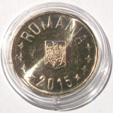 Monede Romania, An: 2015 - ROMANIA 50 BANI 2015 UNC - LUCIU DE MONETARIE **