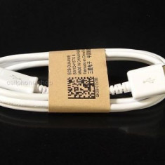 Cablu de date - Cablu date incarcare Alb MicroUSB Samsung S5350 Shark