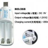 Incarcator Aparat Foto - WOOKEE INCARCATOR BATERII USB 2.0 M WK-368, Iasi