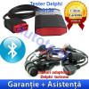 Tester diagnoza auto - Tester Delphi DS150E cu Bluetooth + Cabluri turisme Autocom/Delphi - Garantie