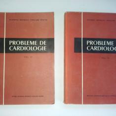 Probleme de cardiologie ( vol. II, III si IV) 1956 - 1959 - Carte Cardiologie