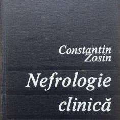 NEFROLOGIE CLINICA - Constantin Zosin - Carte Diagnostic si tratament