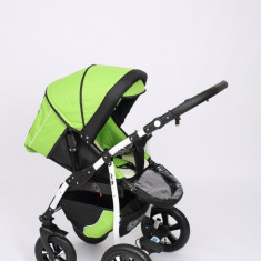 Carucior copii 2 in 1 - Carucior 2 in 1 Q9 Baby Merc Color 6 (Verde cu Negru) Baby-Merc