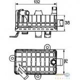 Radiator auto ulei - Radiator ulei ulei motor BMW 3 E36 PRODUCATOR HELLA 8MO 376 725 791