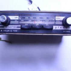 Aparat radio - Radio vechi auto Predeal foarte rar anii 60 Electronica functional