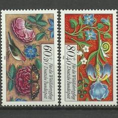 Bundes 1985 - flori, serie neuzata