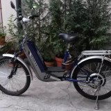 Moped electric Lofty (scuter electric cu pedale, Vmax = 20km/h)