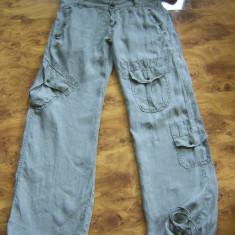 Pantaloni superbi de vara DSQUARED2 de dama, marimea 29 megapret reducere finala - Pantaloni dama Dsquared, Culoare: Din imagine, Lungi, Bumbac