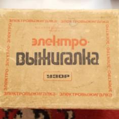 Scule Electrice - APARAT PIROGRAVAT RUSESC .