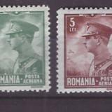 1930 - Carol II Posta Aeriana, serie nestampilata
