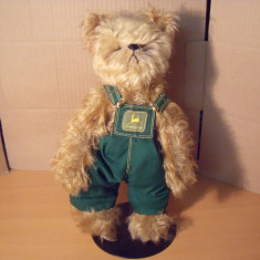 Papusa de colectie - De colectie the franklin mint heirloom bears ursul John Deere Original si rar
