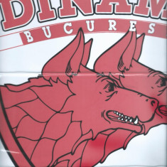 Poster - abtibild Dinamo Bucuresti (format mare)
