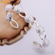 Bratara argint 925 + cutie cadou; marime reglabila