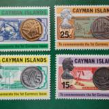 Bancnote monede numismatica - serie nestampilata MNH - Cayman Isl 1972