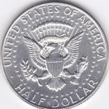 Moneda Statele Unite ale Americii 1/2 Dolar 1967 - KM#202 UNC (argint 0, 400), America de Nord, An: 1967