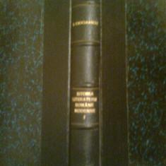 Istoria literaturii romane moderne I -S. CIOCULESCU -V. STREINU -T. VIANU (1944) - Istorie