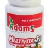 Vitamine/Minerale - Multivita+Fe 90tb Adams Vision