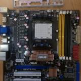 Placa de baza ASUS M3A78-CM impecabila cu garantie, Pentru AMD, AM2, DDR2, MicroATX