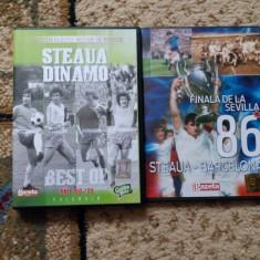 Steaua - 2 DVD-uri + poster - DVD fotbal