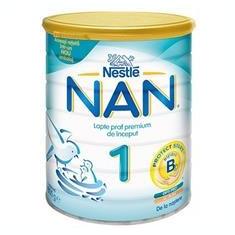 Lapte Praf Nan 1 0-6 Luni Nestle 800gr Cod: 7613032406370