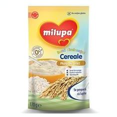 Milupa Buna Dimineata Cereale Piure de Orez 4+Luni 170gr Cod: 5900852025846