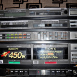 SONY STEREO DECK RECEIVER - AMPLIFICATOR HST-750W - Deck audio