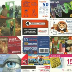 LOT 12 cartele telefonice diferite 1 - Cartela telefonica romaneasca