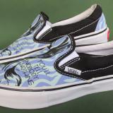 Pantofi tenisi Vans de panza originali, marime 36 EU (23 cm) - Tenisi dama, Culoare: Mov