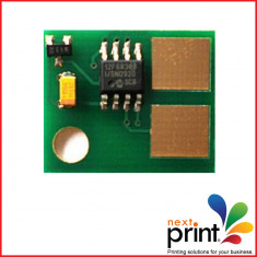 CHIP CARTUS TONER compatibil LEXMARK E350, E352, capacitate 9.000 pagini. - Chip imprimanta