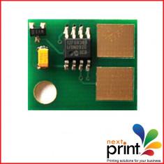 CHIP CARTUS TONER compatibil LEXMARK MS510, MS610, capacitate 20.000 pagini. - Chip imprimanta