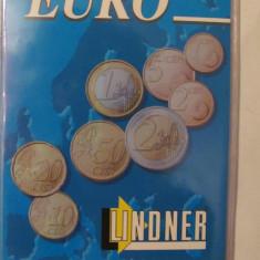 CY - Coperta LINDNER / Germania pentru monede EURO - album clasor