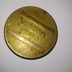 Jeton Parcare - Valcon Grup - Jetoane numismatica