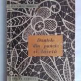 Dantele din puncte si laseta - Ecaterina Tomida / R1S - Carte design vestimentar