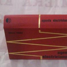 Ing.E.PIETRAREANU - AGENDA ELECTRICIANULUI ~ Editia a doua, an.1971, format mic ~ - Carti Energetica