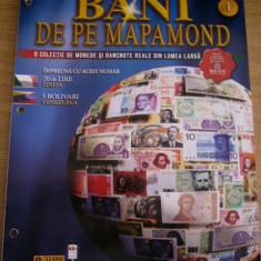 CC31 - BANI DE PE MAPAMOND - NUMARUL 1